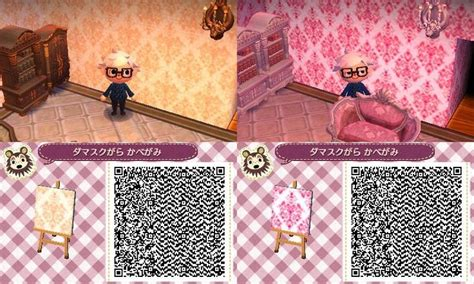 Animal Crossing Pink Wallpaper Qr Codes | animal crossing new leaf qr code clothes on pinterest