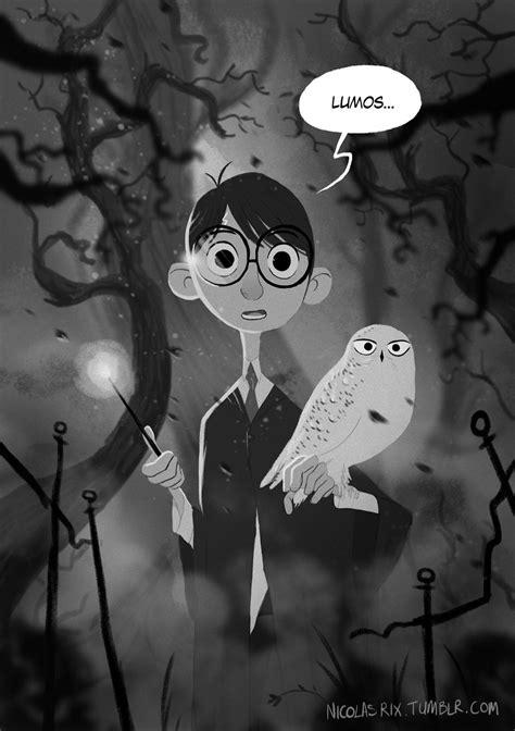 Harry Potter #Lumos by Nicolas Rix #harrypotter #