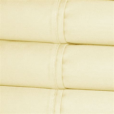 Comfortable Sheets Thread Count by 820 Thread Count Cotton Sateen Sheet Set Ivory