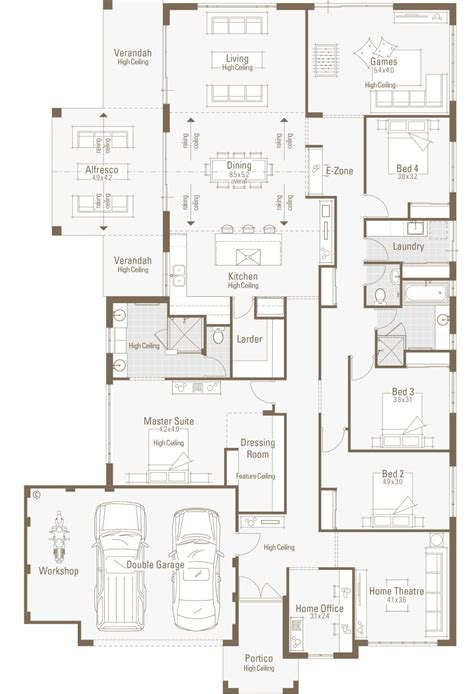 House Plans With Office by Exceptional Large Home Plans 5 Floor Home House Plans