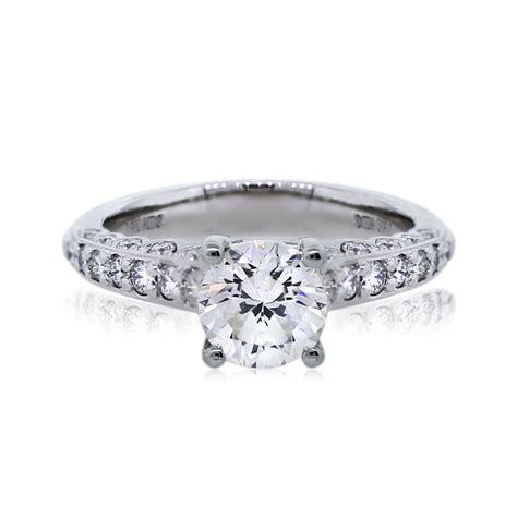 18k white gold 1 16ct brilliant engagement ring
