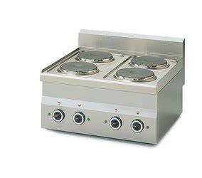 cucine piastre elettriche cucina 4 piastre elettriche da appoggio 6 kw metro catalogo