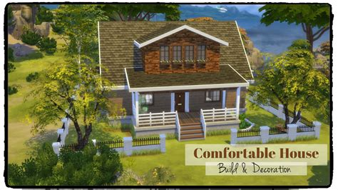 comfortable homes sims 4 comfortable house dinha