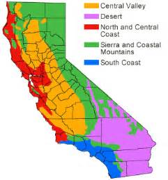 regions of california map social studies dive into learning