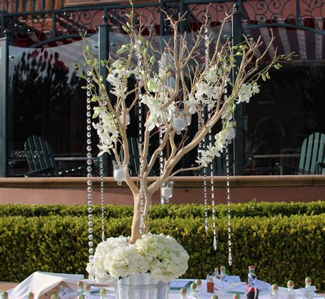 wedding tree centerpieces for sale san diego wholesale flowers florist bouquets manzanita