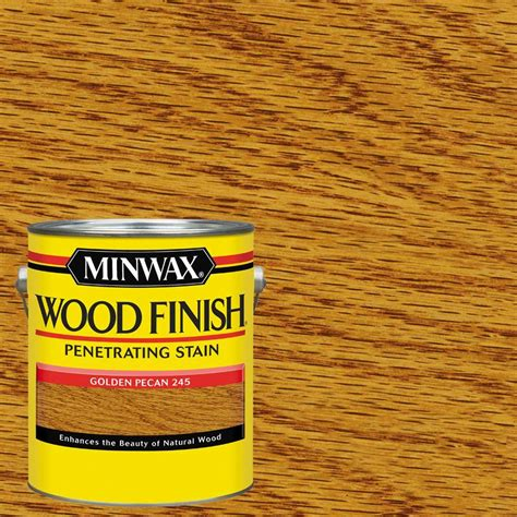 Interior Wood Stain Colors Home Depot minwax 1 qt wood finish golden pecan oil based interior