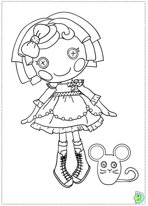 coloring pages lalaloopsy az coloring pages