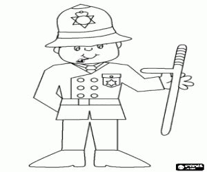policeman hat coloring page police coloring pages printable games