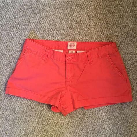 salmon colored shorts 66 mossimo supply co mossimo salmon colored