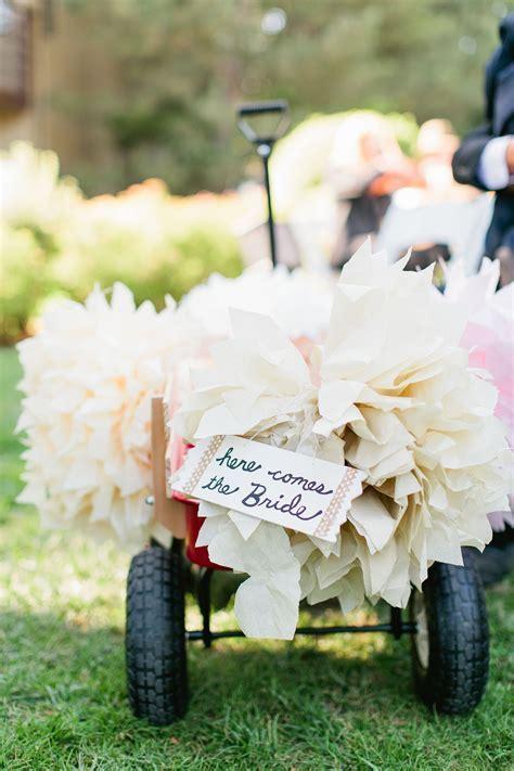 Wagon for the baby ring bearer.   Hyatt Regency Incline