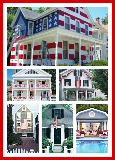 decorated homes pictures houses decorated for the 4th of july decor ideas