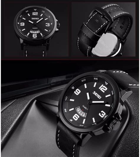 Jam Tangan Skmei Dg1025 Black skmei jam tangan analog pria 9115cl black