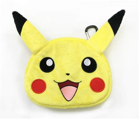 New 3ds Xl Hori Pikachu Plush Bag details revealed for hori universal pikachu plush pouch for ds 3ds xl idealist