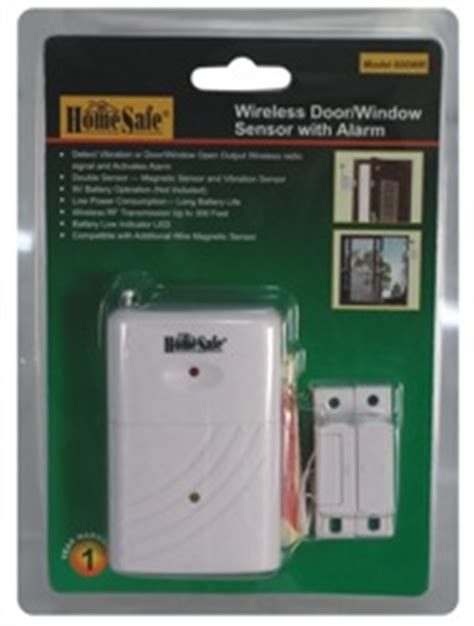 homesafe wireless home security system sensor