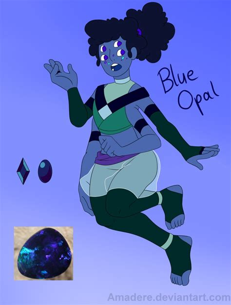 blue opal gemsona gemsona fusion blue opal by amadere on deviantart