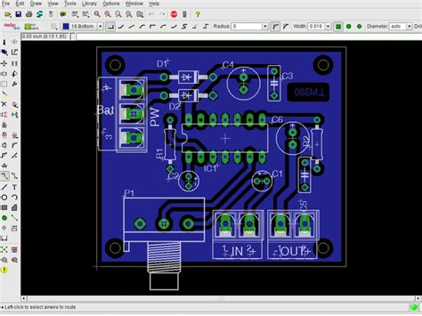 pcb design tutorial using eagle cadsoft eagle learn pcb design software v7 edu 1 user
