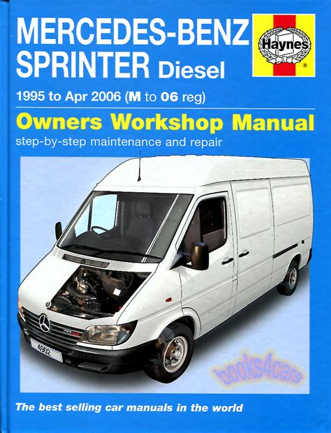 service manual how to fix cars 2007 mercedes benz g class sprinter shop manual service repair book haynes mercedes dodge freightliner ebay