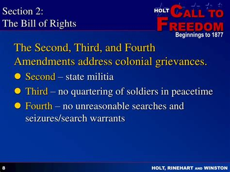 section 2 bill of rights ppt citizenship and the constitution 1787 present