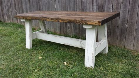 country style benches farmhouse country style rustic distressed solid wood bench vintage pinterest