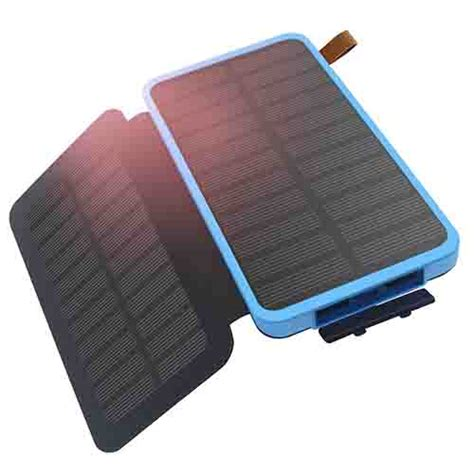 Power Bank Bio Solar solar power bank solar panels 8600 mah dual usb waterproof with light best deals nepal