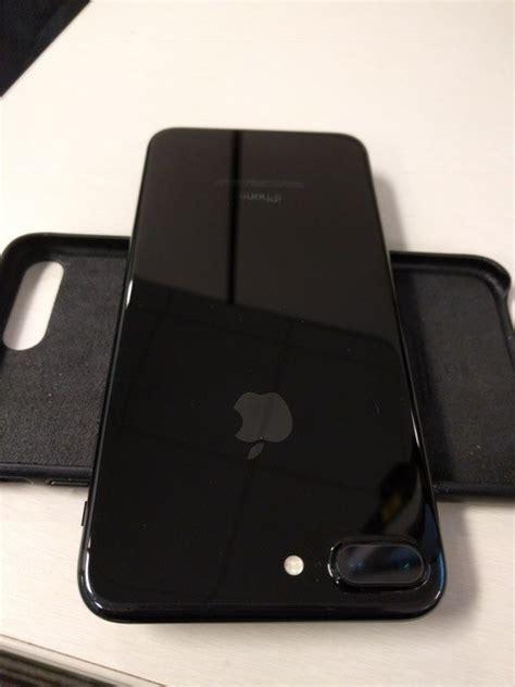 unlocked  sim  iphone   gb jet black
