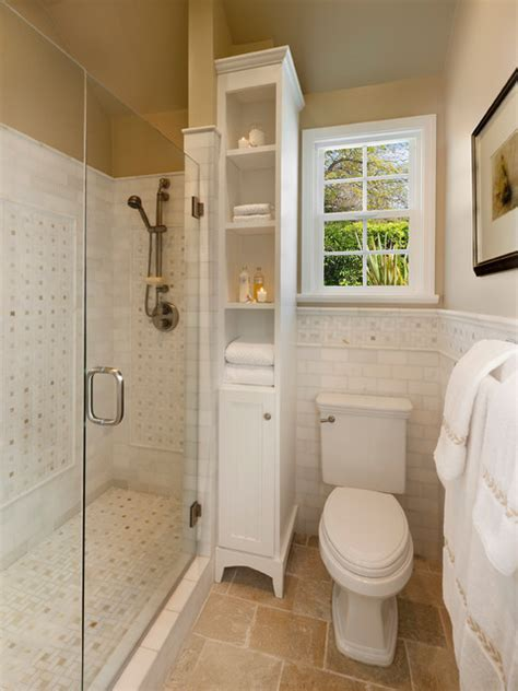 Bathroom Space Saver Ideas Space Saving Traditional Bathroom Traditional Bathroom Santa Barbara By Keeping Interiors