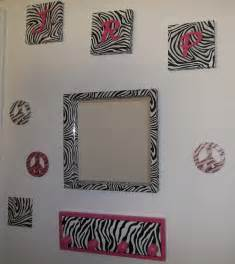 Zebra Print Home Decor zebra print wall decoration