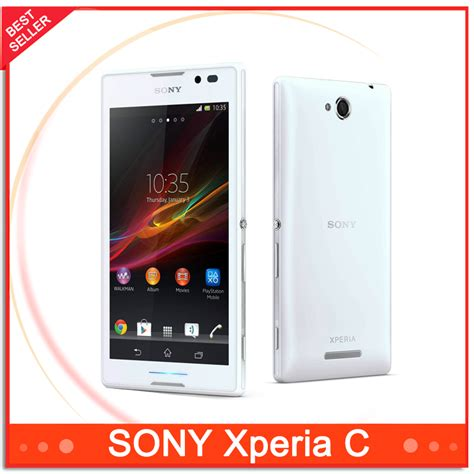 Touchscreen Sony Xperia C C2305 Original original unlocked sony xperia c s39h c2305 cell phones dual sim android 8mp