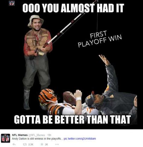 Cincinnati Bengals Memes - january 4 2015 cincinnati bengals indianapolis colts