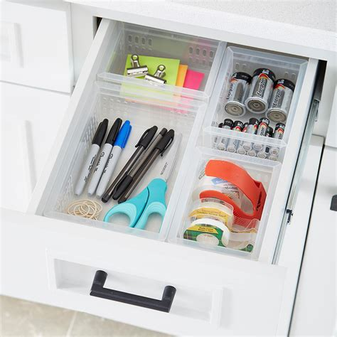 Junk Drawer Organizer Diy by Stackable Organizers Junk Drawer Starter Kit The