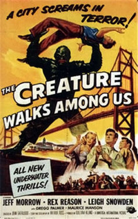 where monsters walked california locations of science fiction and horror 1925ã 1965 books the creature walks among us