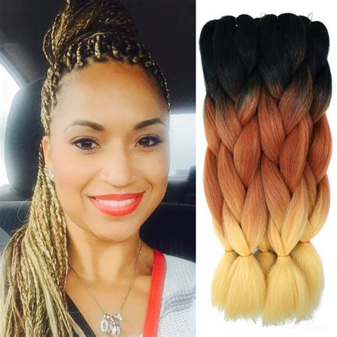 ali baba expression 100 human hair braiding hair box braid ombre xpression braiding hair kanekalon lots expression