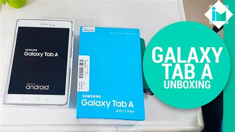 Samsung A With Pen samsung galaxy tab a with s pen unboxing en espa 241 ol