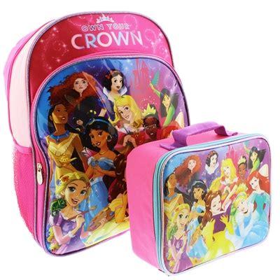 Lunch Box Set Disney Princess disney princess 16 inch backpack and lunch box set