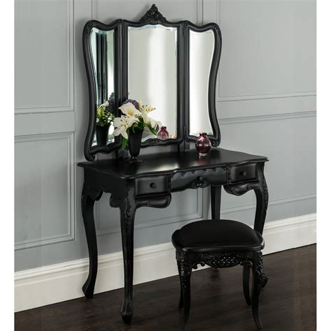 la rochelle black antique french dressing table set dressing table sets