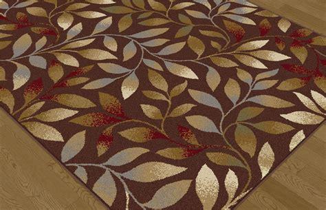 elegance rugs tayse elegance elg5488 brown rug