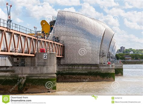 thames barrier london england u k thames barrier in london stock photo image 35762170