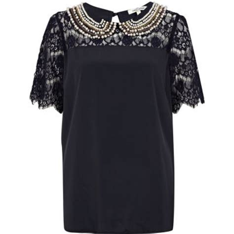 Fashion Dislike Alert Harem Begone by Embellished Collar T Shirt Top 8 Trendy And Chic