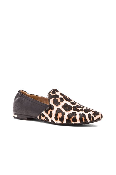 yosi samra loafers yosi samra preslie cow hair loafer lyst