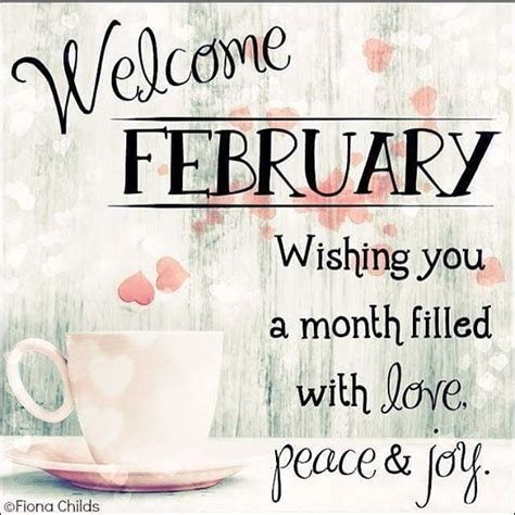 february wishing   month filled  love peace joy pictures   images