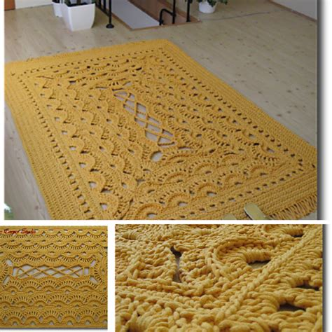 carpet crochet rug area rugs free crochet patterns knit and crochet daily