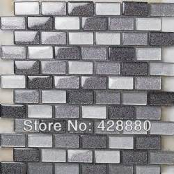 Tile Sheets For Kitchen Backsplash by Crystal Glass Mosaic Tiles Subway Tile Sheets Glass Tile