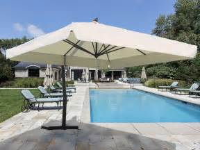 Large Offset Patio Umbrellas Patio Large Cantilever Patio Umbrellas Home Interior Design