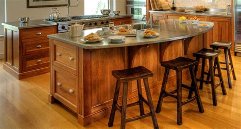 Kitchens With Bars And Islands How To Create A Raised Bar In Your Kitchen How Tos Diy Pertaining To Kitchen Island Raised
