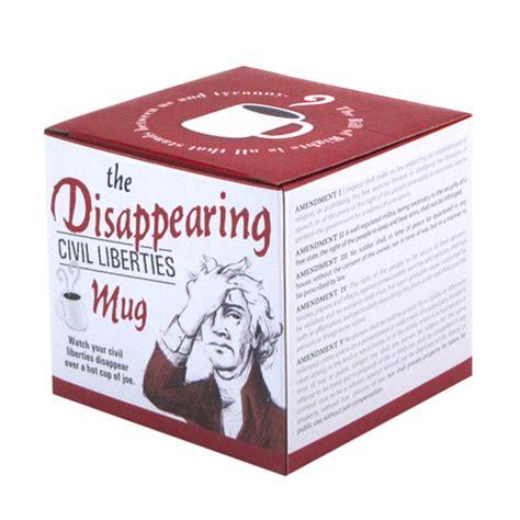Disappearing Civil Liberties Mug by Newseum Store Disappearing Civil Liberties Mug