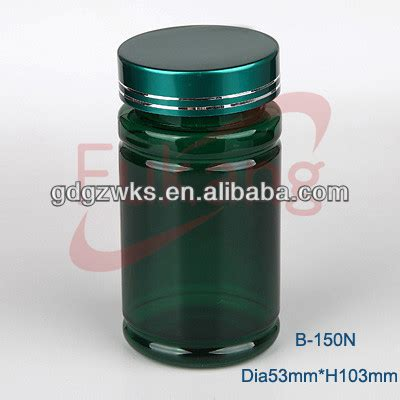 Bottle Colour Transparant 150ml Dcn027 alibaba green 150ml plastic capsule pet bottle