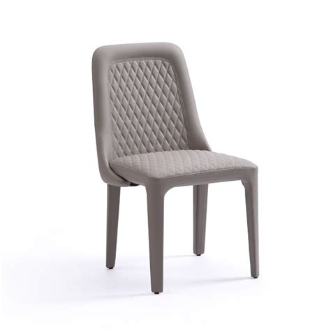slate modern grey dining chair set of 2