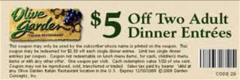 olive garden printable coupons jan 2016 free printable olive garden coupons olive garden