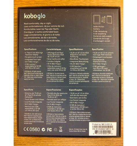 Kobo Ereader Gift Card - kobo glo ereader w envelope case plus 15 indigo gift card