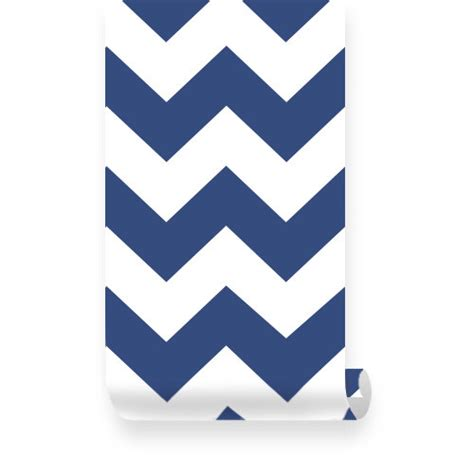 removable wallpaper navy blue chevron navy white removable wallpaper peel stick by